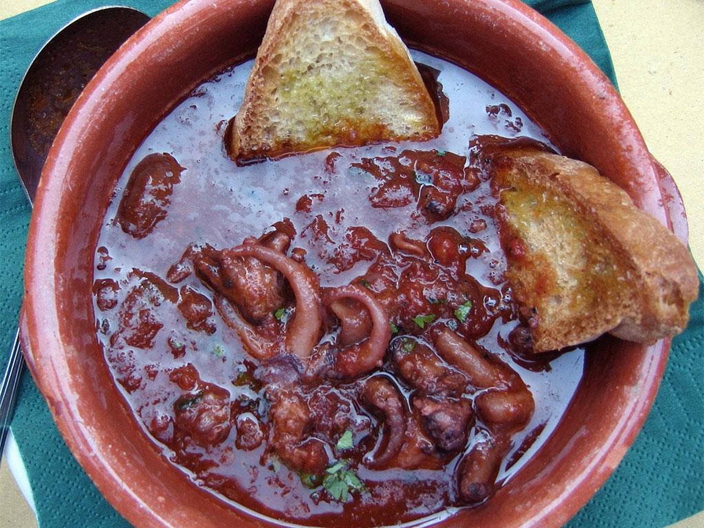 Ricette con moscardini for Cucinare moscardini