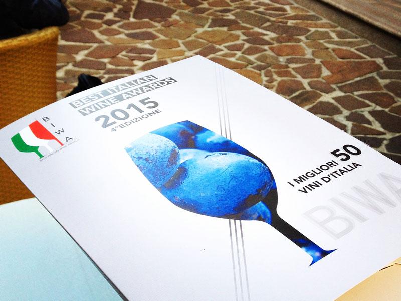 Biwa 2015 i migliori vini italiani for Migliori mobilifici italiani