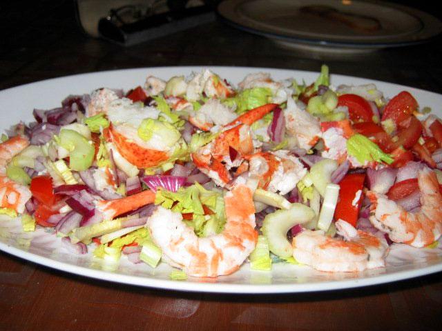 Astice e gamberi alla catalana ricetta for Cucinare astice