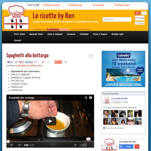 Le ricette by Ren