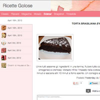 Ricette golosissime