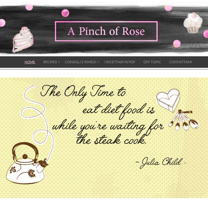 A Pinch of Rose