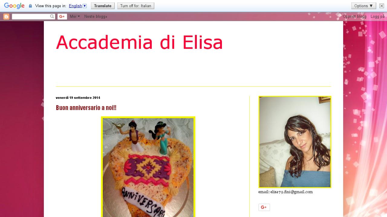 Accademia di Elisa