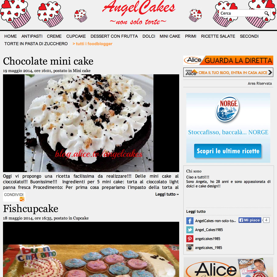 AngelCakes ~ non solo torte ~
