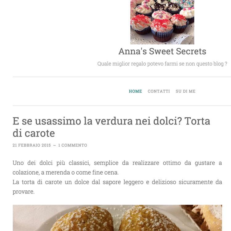 Anna's Sweet Secrets