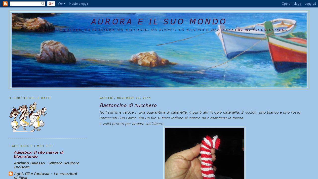 Aurora e il suo mondo