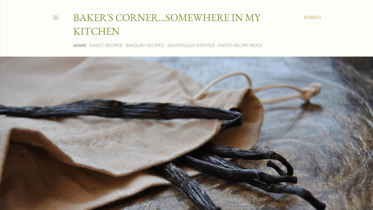 Baker's corner...somewhere in my kitchen