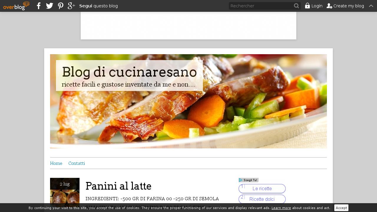 Blog di cucinaresano
