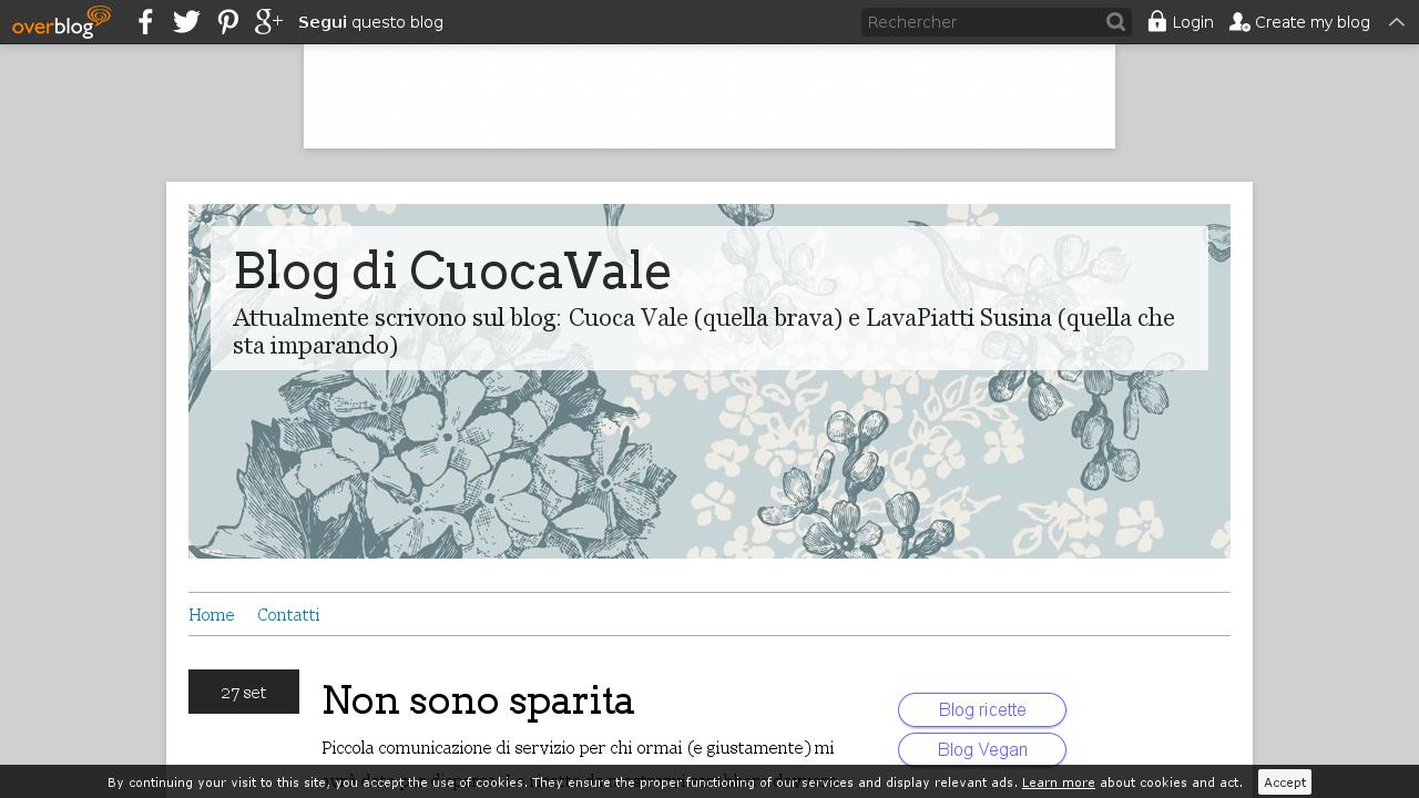 Blog di CuocaVale
