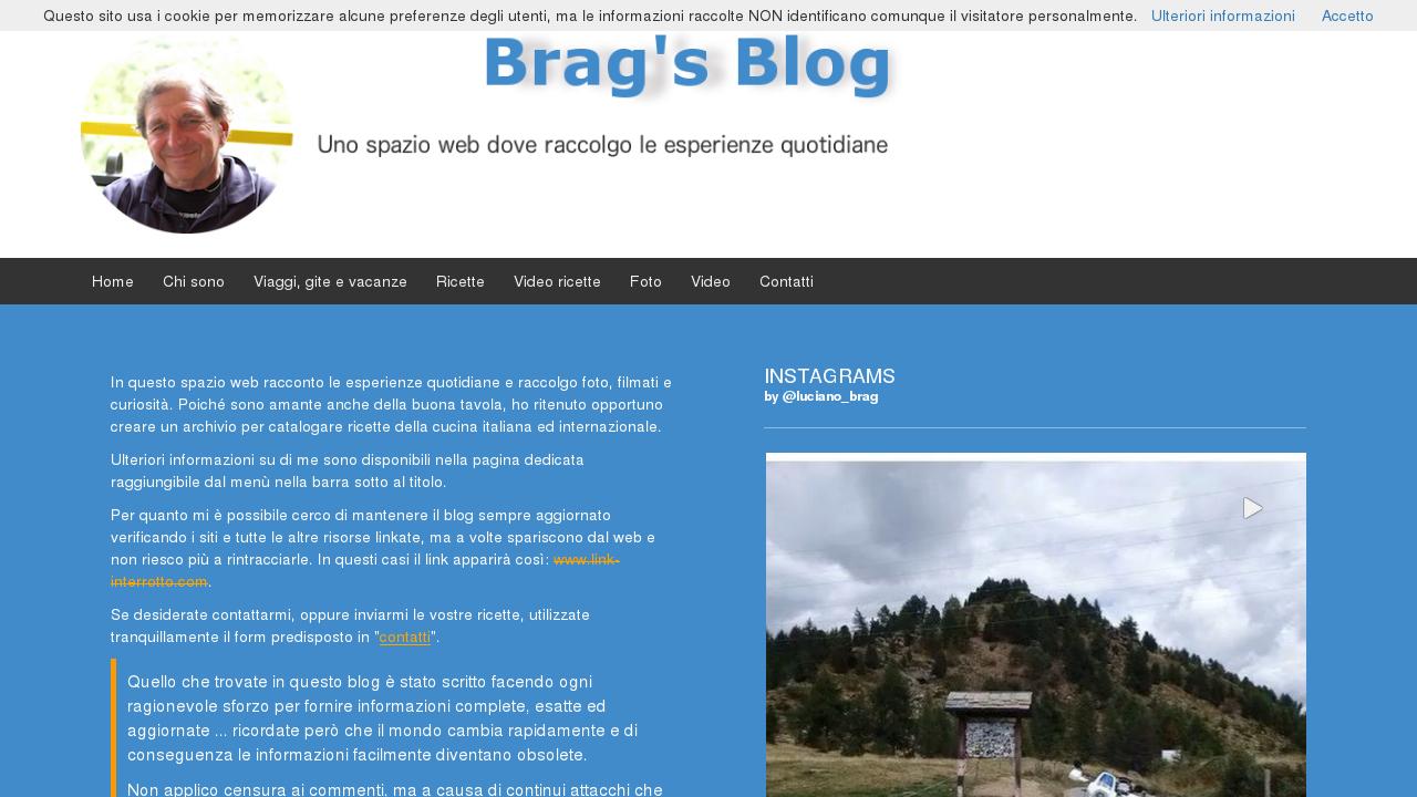 Brag Family's Blog
