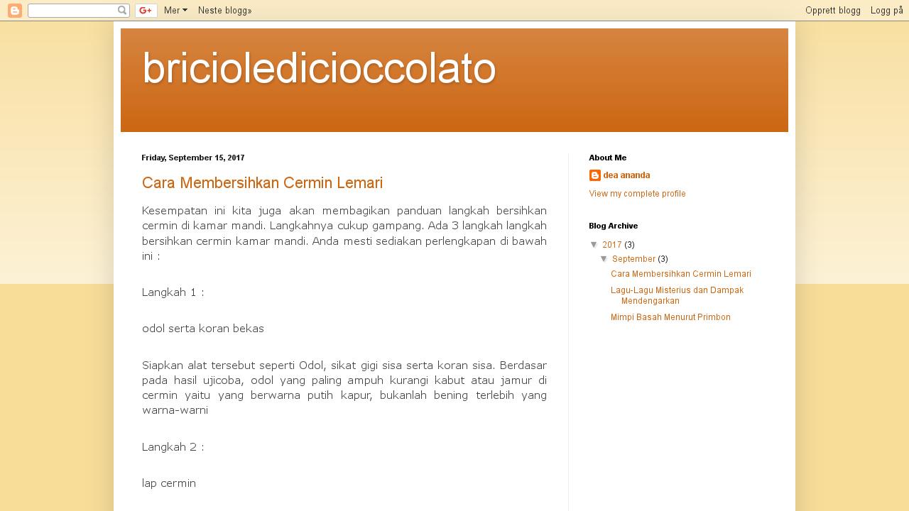 Briciole di cioccolato