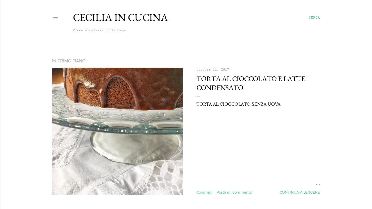 Cecilia in Cucina