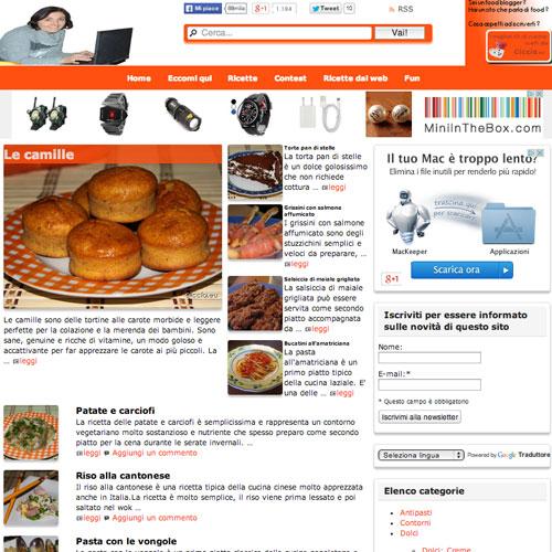 Le ricette di Ciccia