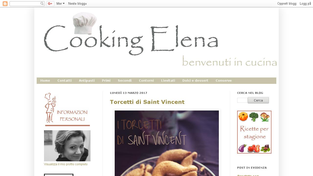 Cooking-elena