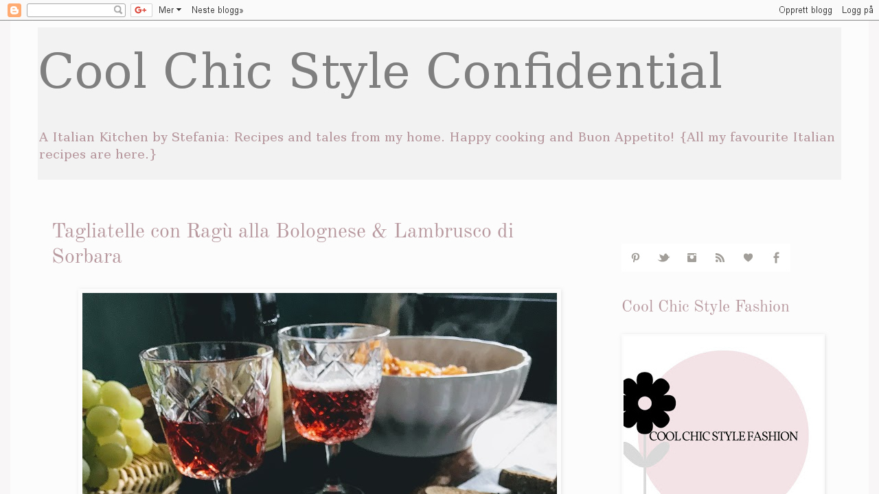 Cool e Chic style confidential