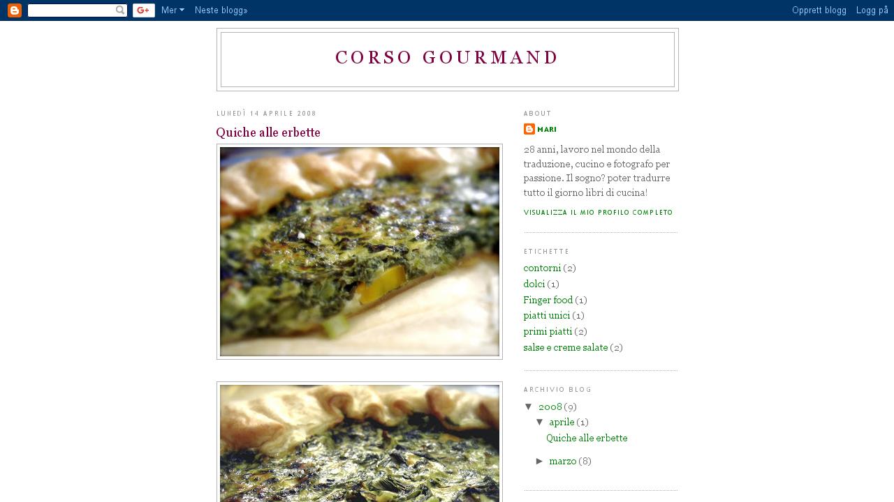 Corso Gourmand