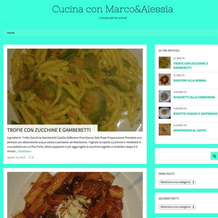 Cucina con Marco&Alessia