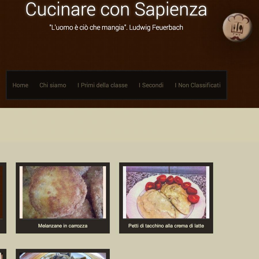 Cucinare con Sapienza
