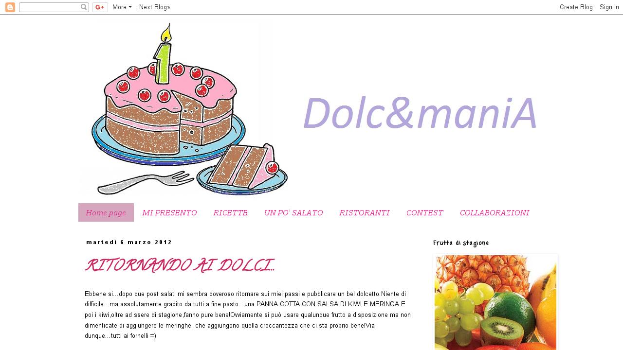 Dolc&mania