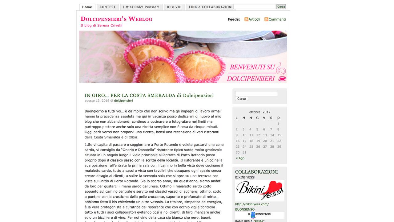 Dolci pensieri's Weblog