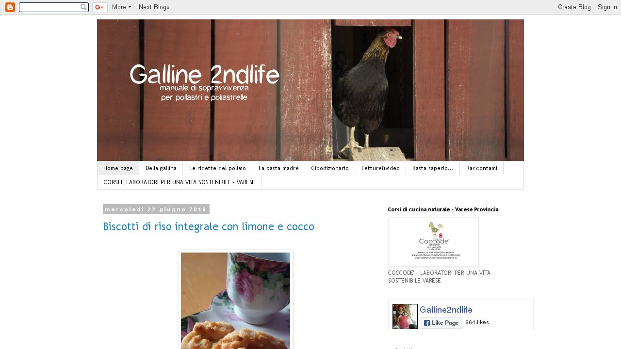 GALLINE: 2nd life