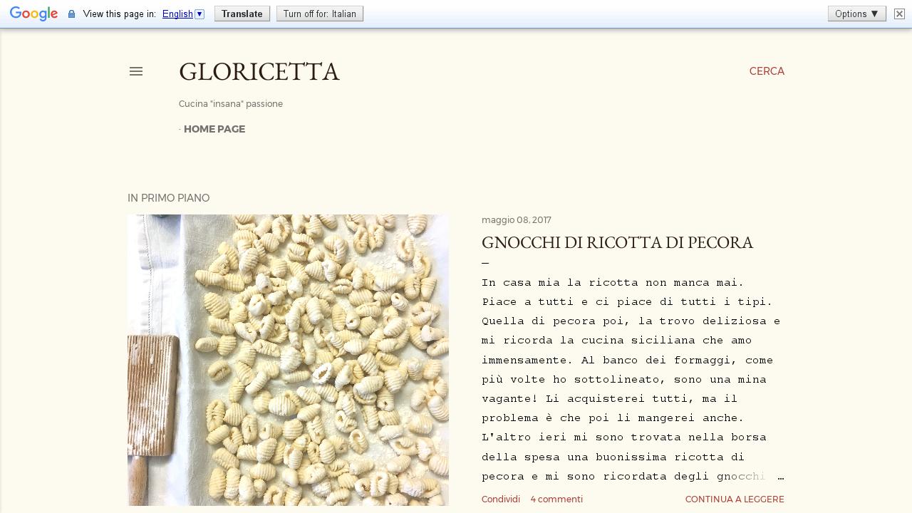 Gloricetta
