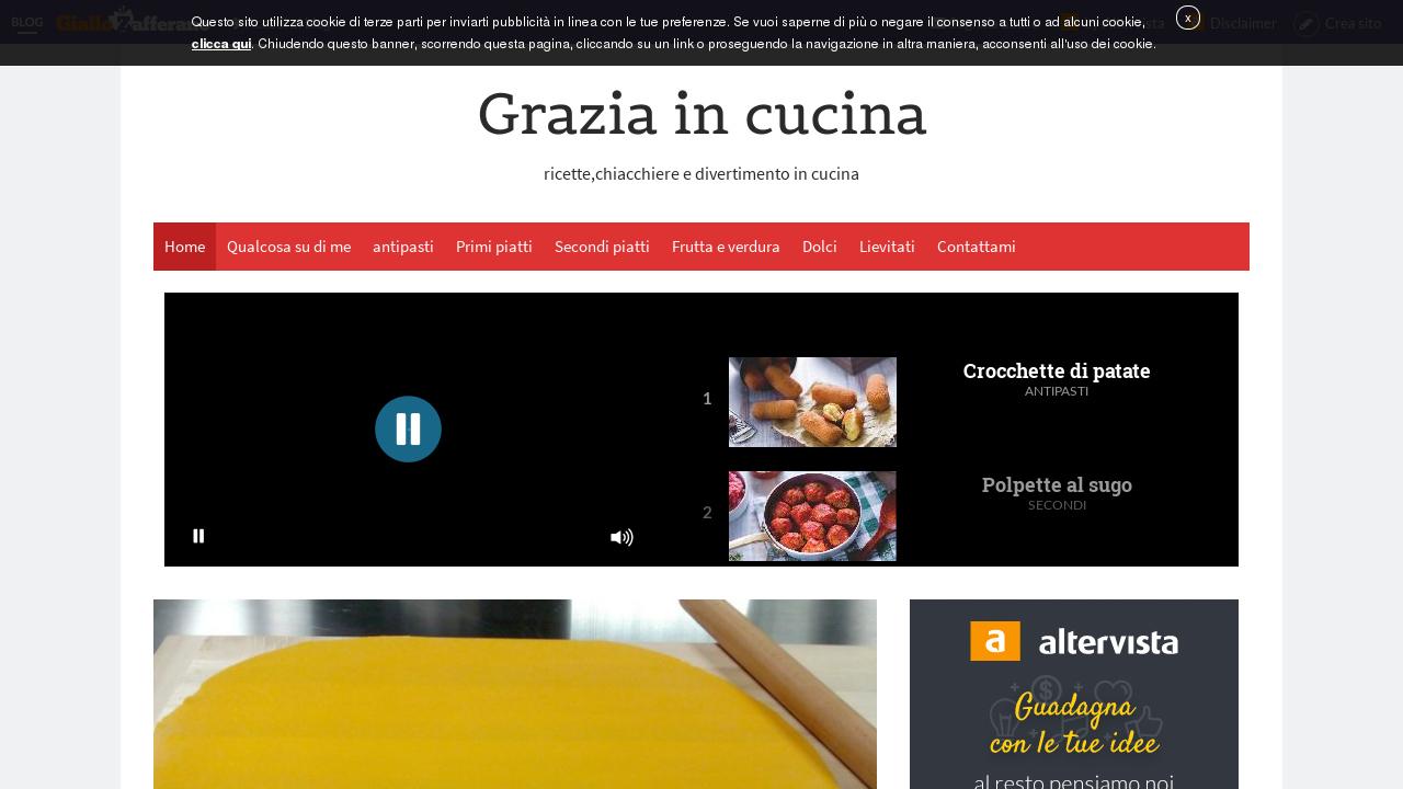 Grazia in Cucina
