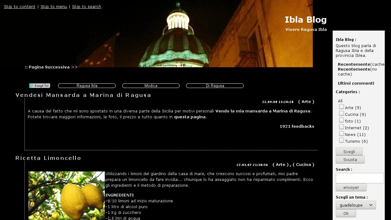 Ibla Blog
