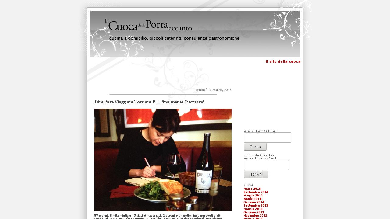 Il Blog della Cuoca della Porta accanto