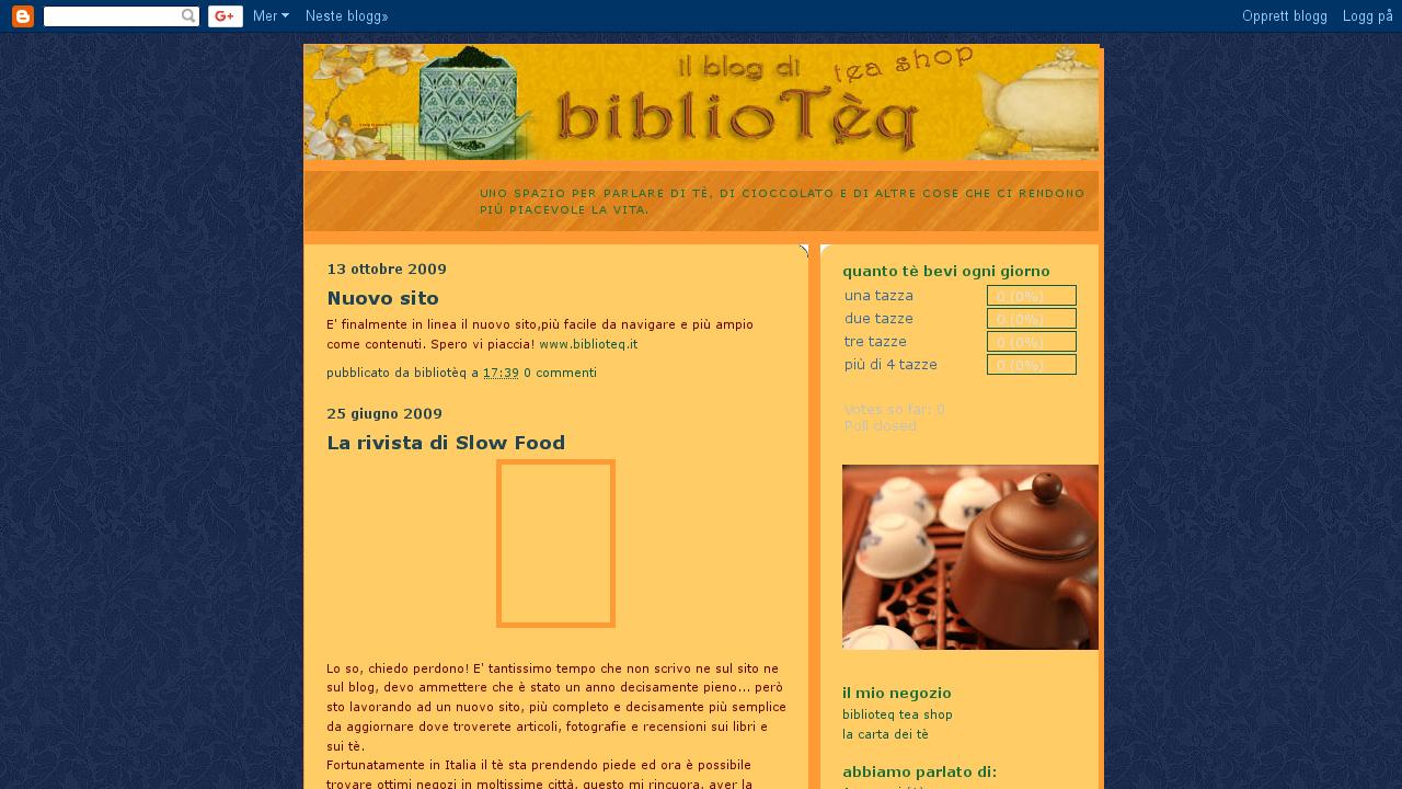 Il blog di bibliotèq