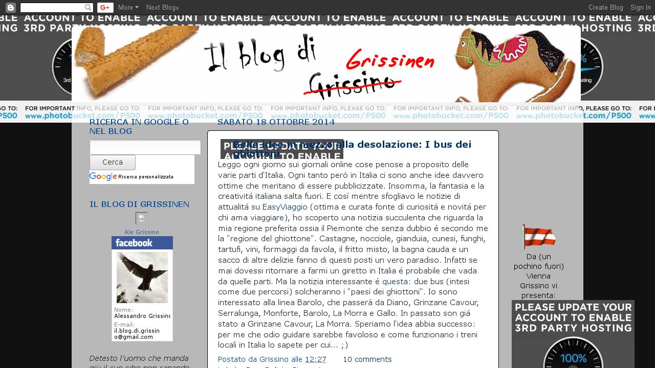 Il Blog di Grissino
