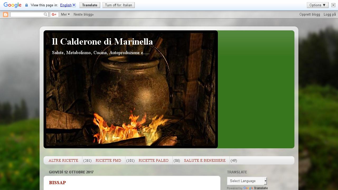 Il Calderone di Marinella