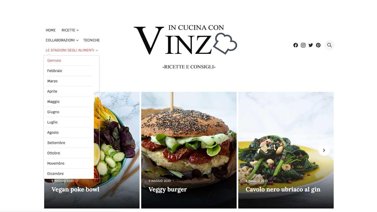 In cucina con Vinz