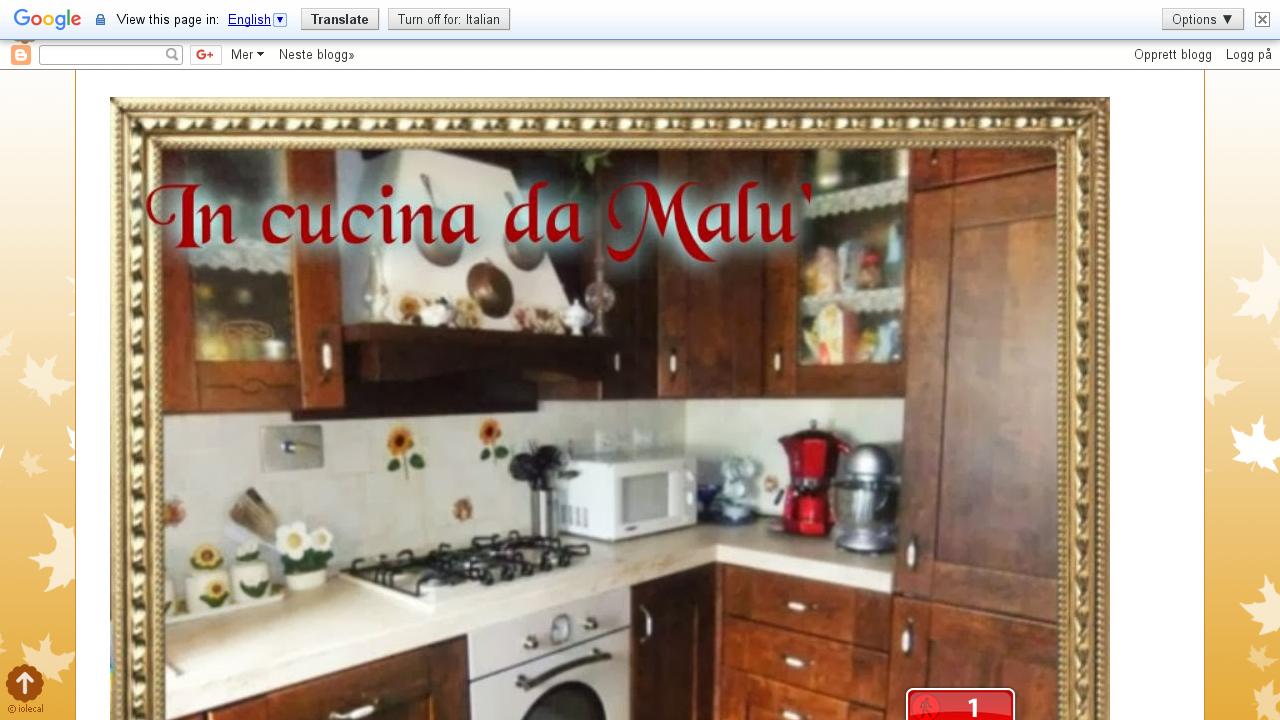 In Cucina da Malù