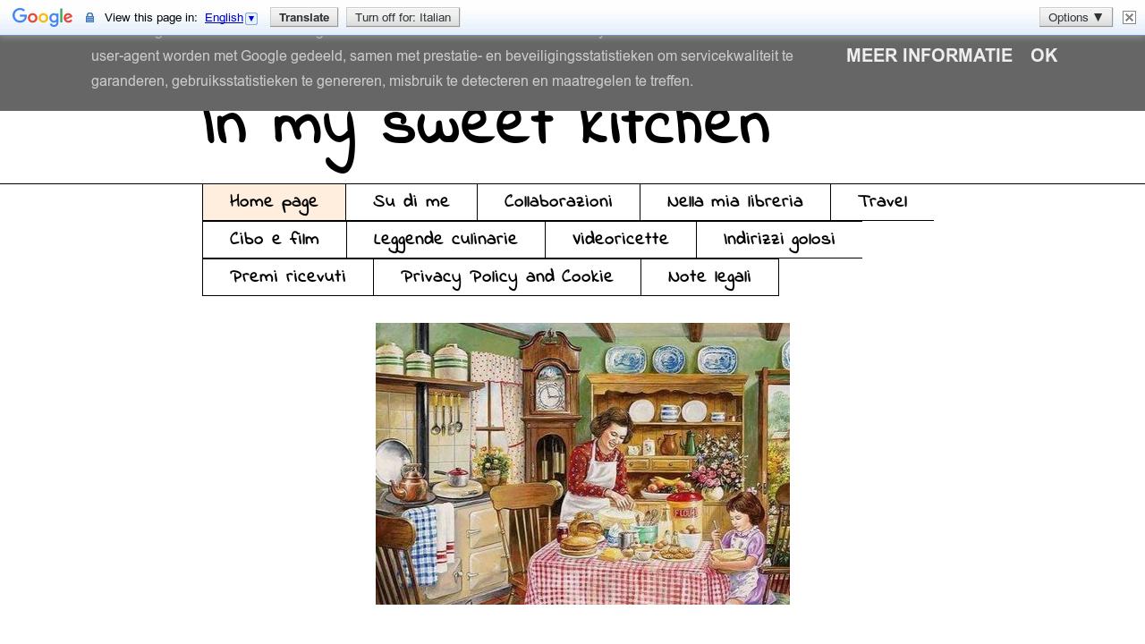 In my sweet kitchen