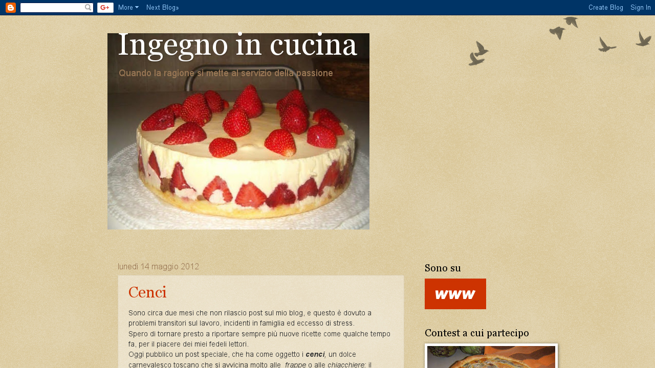 Ingegno in cucina