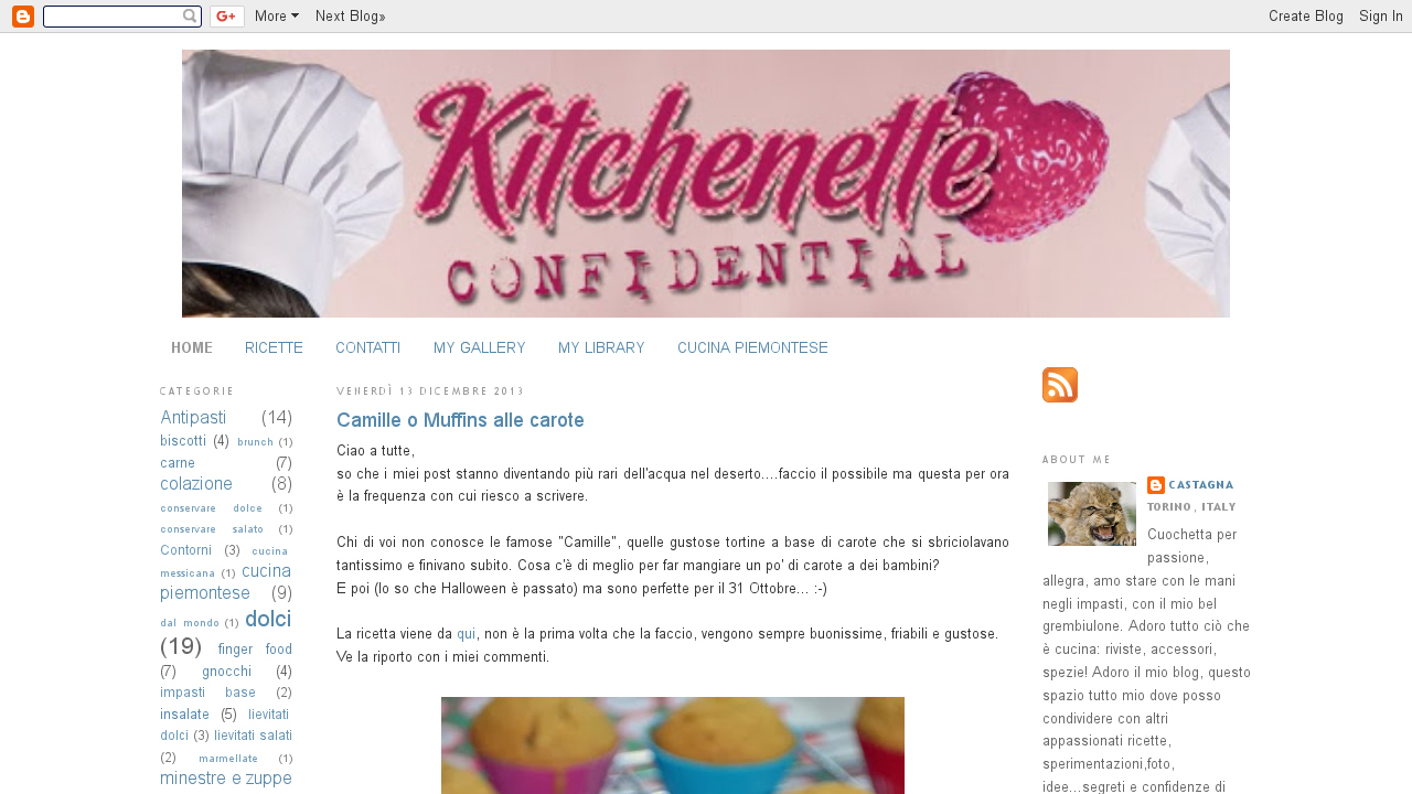 Kitchenette confidential