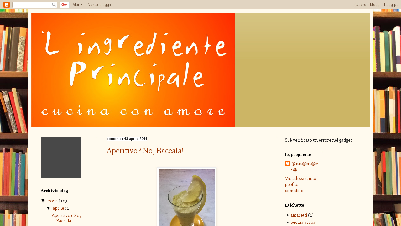 L'ingrediente principale
