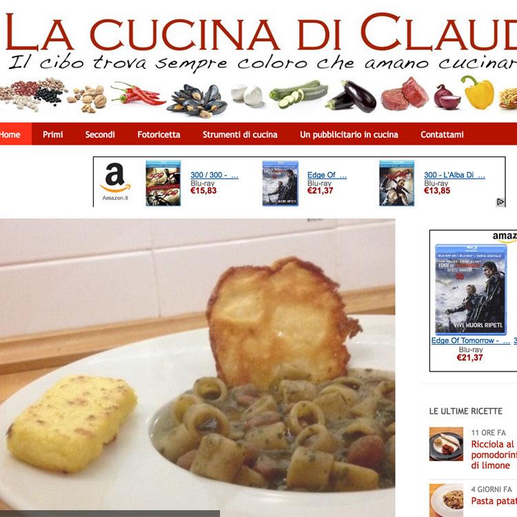 La cucina di Claudio