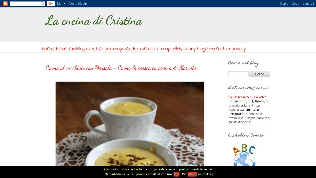 La Cucina di Cristina