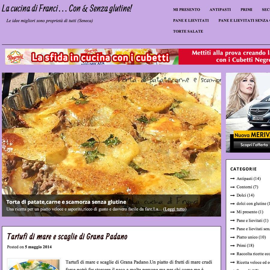 La cucina di Franci, con e senza glutine