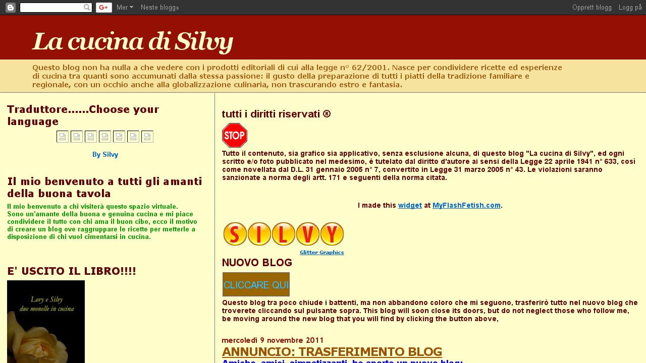 La cucina di Silvy