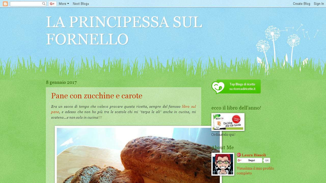 La principessa sul fornello