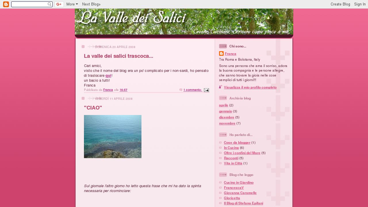La Valle dei Salici