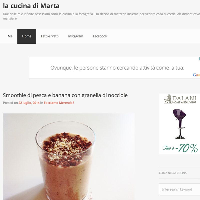 La cucina di Marta