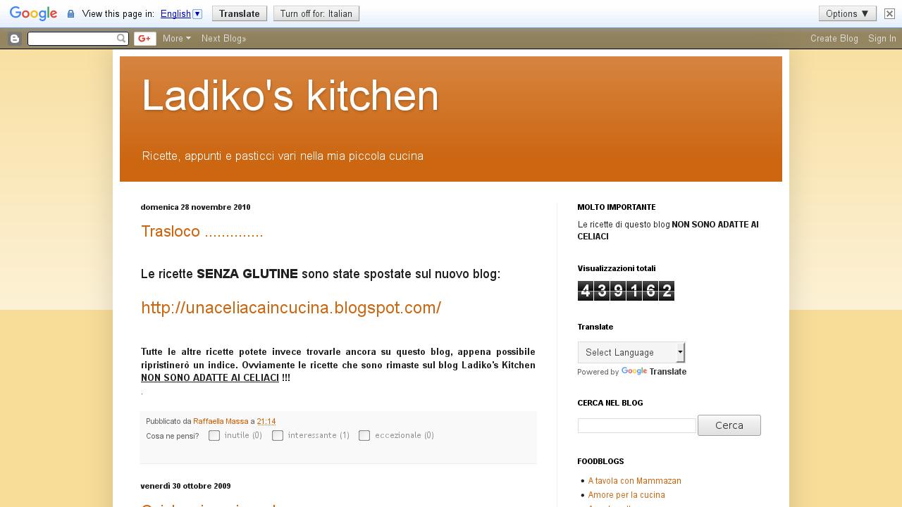 Ladiko's Kitchen