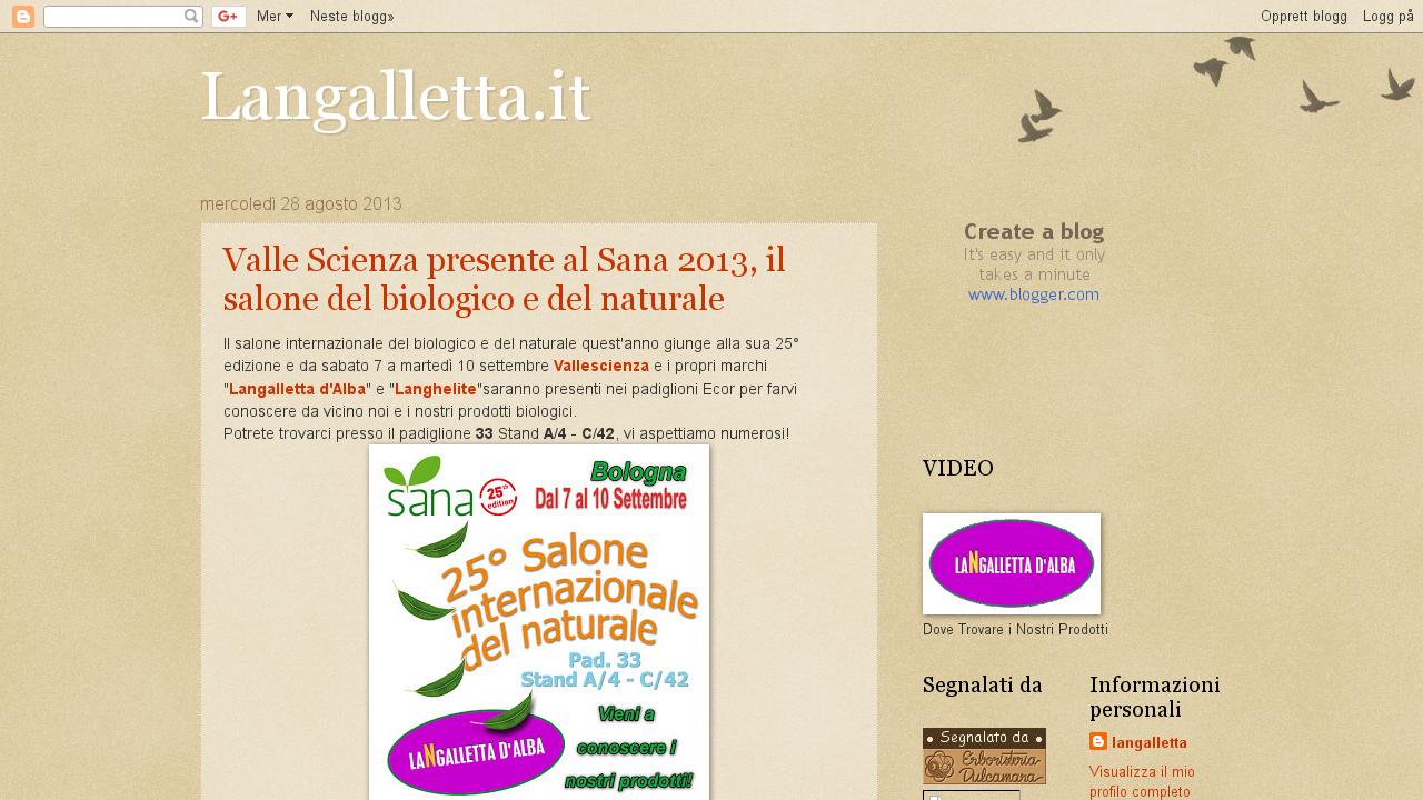 Langalletta.it