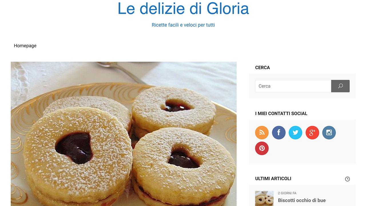 Le delizie di Gloria