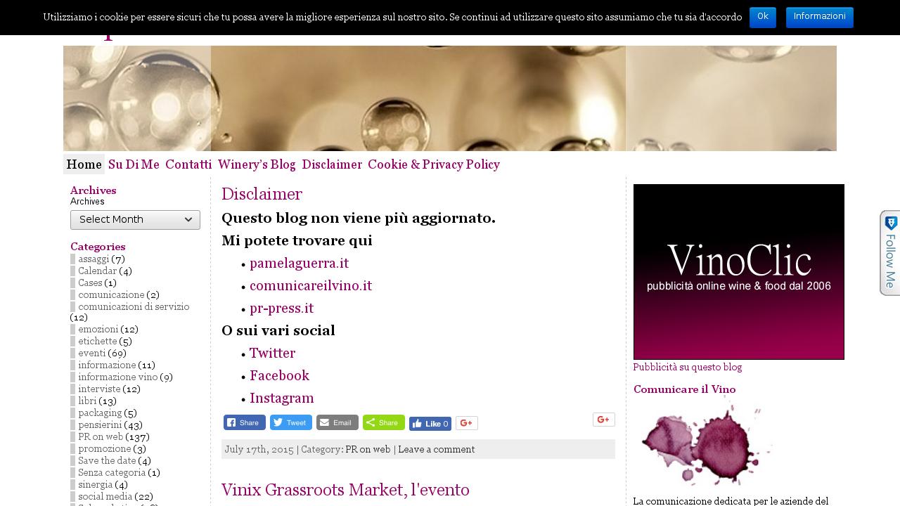 Le pubbliche relazioni del vino