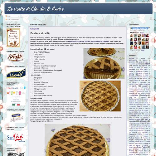 Le ricette di Claudia e Andre